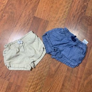 Old Navy shorts 18/24 months